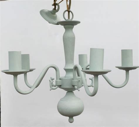 ceiling light fixture in duck egg gorgeous annie sloan chalk paint upcycled lighting shabby
