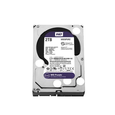 Wdc 2tb Purple Surveillance 35 Sata Iii disco duro wd 2tb 3 5 quot sata purple wd20purz 24x7 para cctv