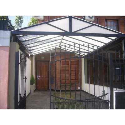 hacer cobertizo para coche techo para garage cochera 1 400 00 techos