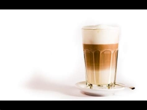 how to make a latte macchiato cafe au lait at home