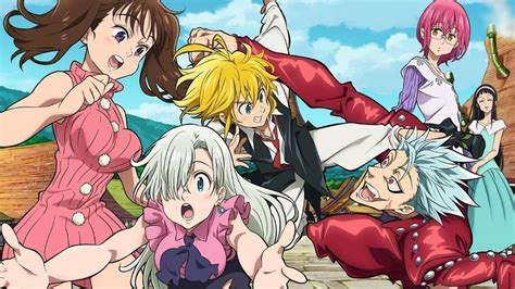 Anime 7 Deadly Sins Season 3 by The Seven Deadly Sins Season 3 2 More Episodes Renewal