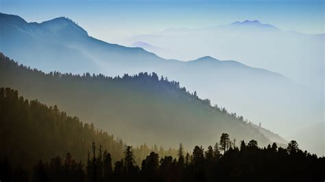wallpaper mac landscape nature mountain range fog sunrise landscape tree mac ox