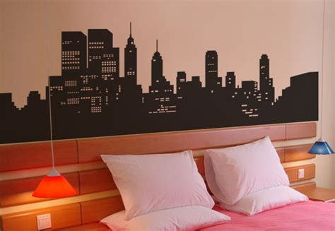 Our City Am 9030 Stiker Dinding Wall Sticker 1 high quality vinyl wall decals large size 2m new york city
