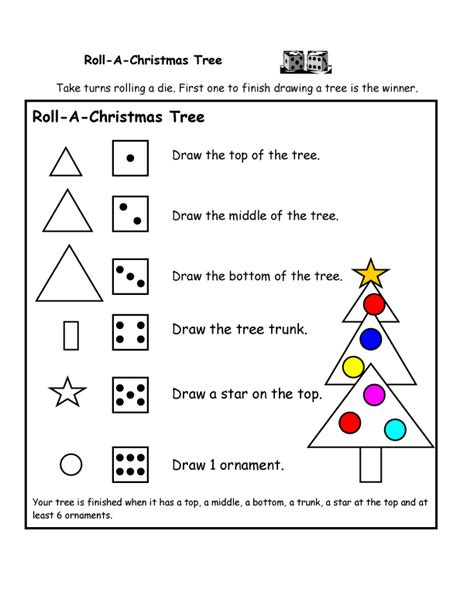 christmas math centers activities for kindergarten