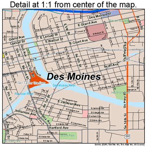 map of des moines iowa des moines iowa map 1921000