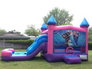 Bounce House Water Slide by Frozen Combo Bounce House Water Slide Yelp