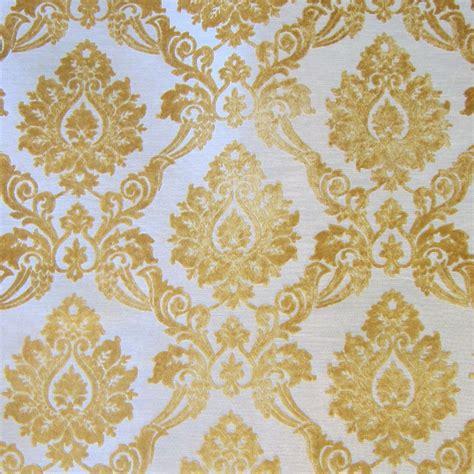gold upholstery fabric gold cut velvet designer upholstery fabric godiva