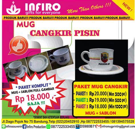 Cangkir Susun Souvenir Wedding Ulang Tahun Promo Perusahaan Events mug bandung infiro rp7000 pc promo mug bandung mug