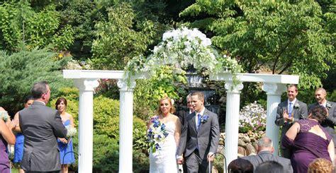 backyard wedding ceremony and reception riverside receptions etc llc outdoor wedding ceremonies