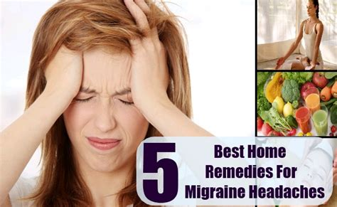 5 best home remedies for migraine headaches care health
