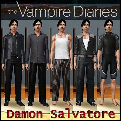 Damon Salvatore Wardrobe by Glitzyangel S Moods The Sims 3 Damon Salvatore The