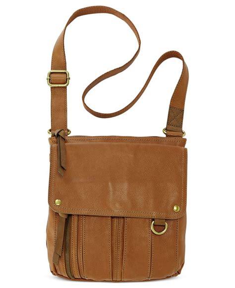 Fossil Handbag 8 fossil leather traveler crossbody bag