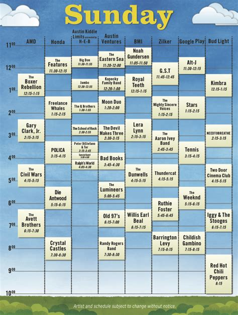 City Limits Dates City Limits Reveals 2012 Schedule Consequence Of