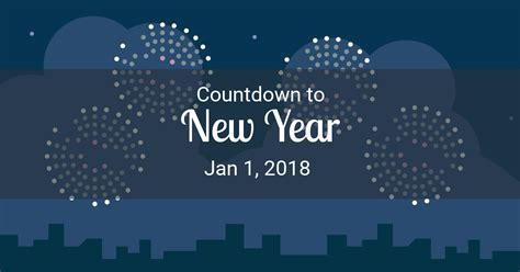 new year countdown countdown to new year 2018