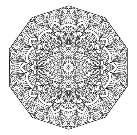 detailed abstract coloring pages free coloring pages 29 printable mandala abstract