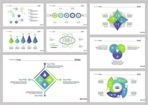 free templates with slider eight consulting slide templates set vector free