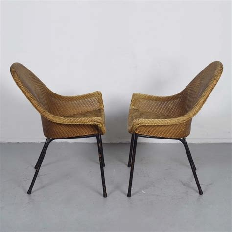 lloyd loom chairs 1950 2 x ms rotterdam lounge lounge chair by lloyd loom 1950s
