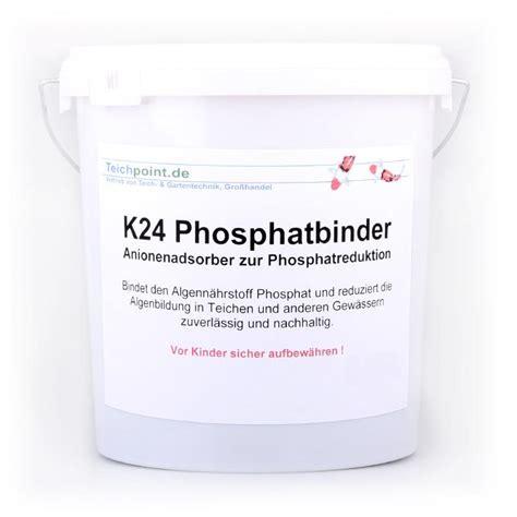 phosphat im teich 2016 phosphatbinder schwimmteich