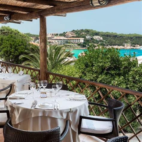 hotel la terrazza ristorante la terrazza baja hotels sardegna costa smeralda