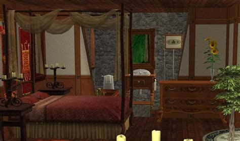 sleeping beauty bedroom mod the sims the sleeping beauty cottage