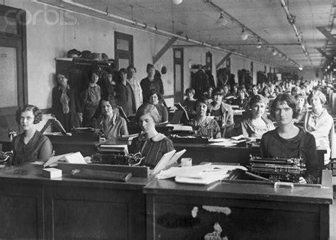 stenographers irs office 1920s