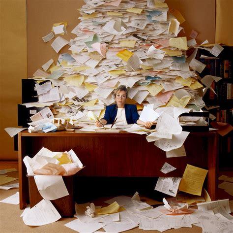 Piles of Paperwork   pinksuedeshoe