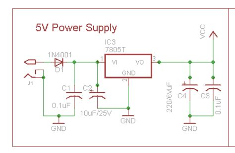 capacitor power supply for microcontroller power supply for microcontroller