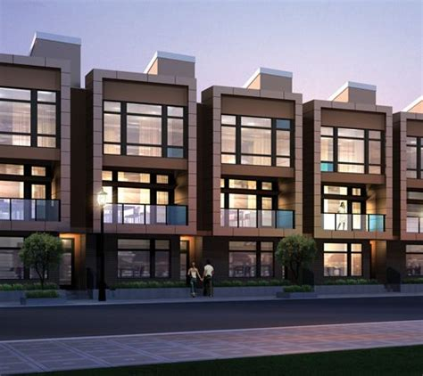 contemporary townhouse contemporary townhouses with a punch chroma townhomes for