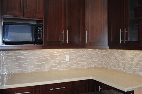 Modern Tile Countertops by Kitchen Countertop And Backsplash Modern Kitchen