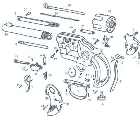 revolver parts diagram exploded gun diagrams 21 wiring diagram images wiring