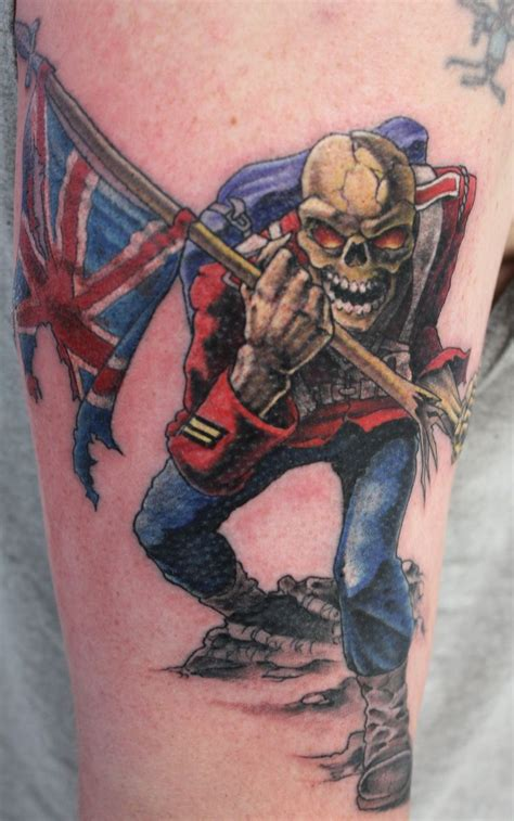 iron tattoo 30 best iron maiden tattoos images on iron