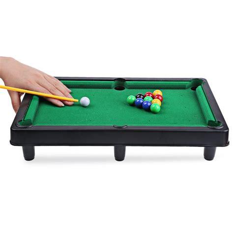 portable mini billiard snooker pool table top desktop