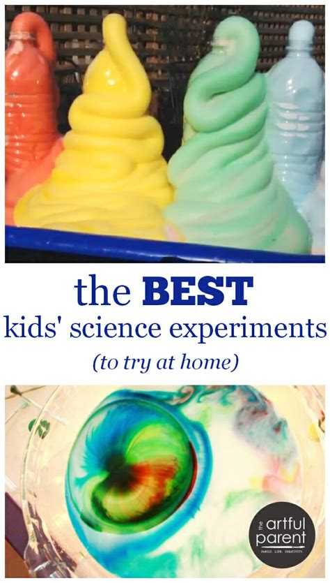 the best science experiments to try at home