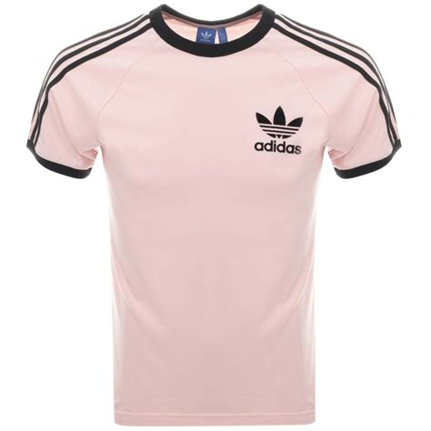 T Shirt Adidas Pink adidas originals california t shirt pink mainline menswear