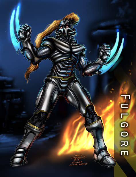 killer instinct fulgore fulgore killer instinct by jameslink on deviantart