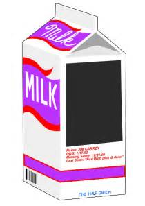 Milk Missing Template by Milk Missing Template Virtren