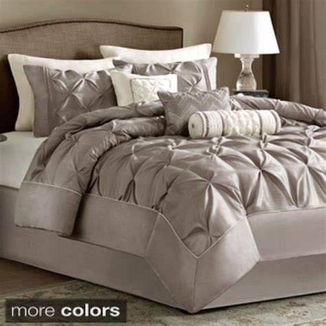 madison park vivian polyester solid tufted 7 piece