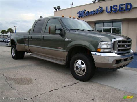 2004 Ford F350 by 2004 Estate Green Metallic Ford F350 Duty King Ranch