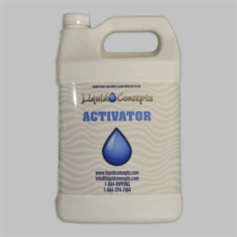 Slime Activator 350ml Slime Act 1 activator 1 gallon hydrographics dipping company liquid concepts