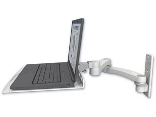 wall mount swing arm laptop stand icw ltu w3 a2 wall mount laptop tray arm nib