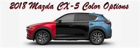 cx 5 colors what are the available 2018 mazda cx 5 color options