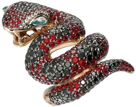 Snakes On A Ring Snakes On A Necklace Snakes By Sydney Evan by Snake Charmers Gem Obsessed