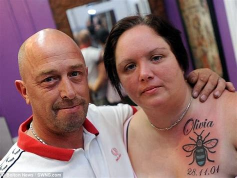 hundreds queue up for manchester worker bee tattoo daily