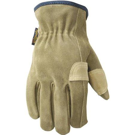 Cowhide Leather Work Gloves - lamont suede cowhide leather work glove walmart