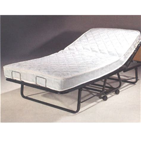 twin rollaway bed the twin size supreme deluxe roll away bed with orthopedic