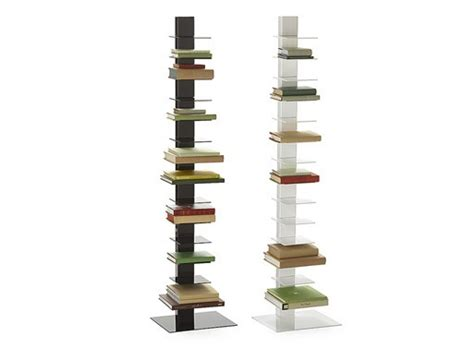 studio metal spine bookcase bookcases better living