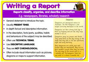 Report Writing Structure For Students by Kiddslearningspace Information Reports