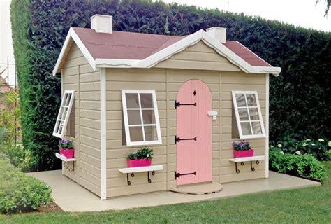 casitas infantiles jardin casita infantil para el jard 237 n de madera greenhouse