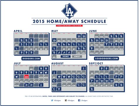 printable mlb schedule 2015 dodgers 2014 schedule printable autos post