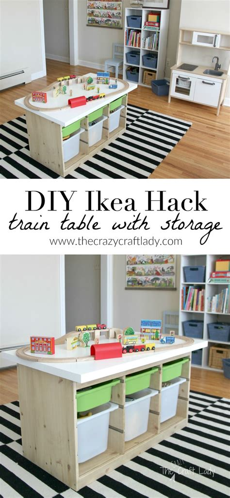 diy ikea projects an ikea hack activity table easy diy projects ikea hack and organizing